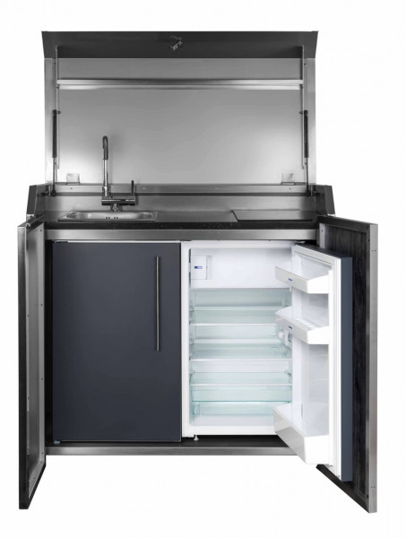 Stengel Duplex Küche Typ 3 - Mit Kühlschrank und Stauraum